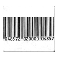 ALL-TAG RF Barcode Label 4x4 Roll